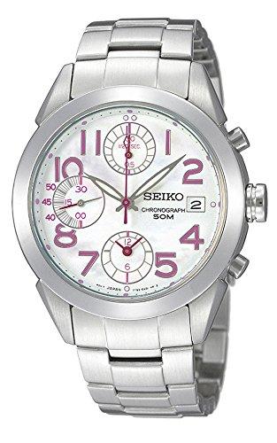 SEIKO Ladeis Chronograph Watch SNDZ51J1 日本製 並行輸入品 B01BWEB38A