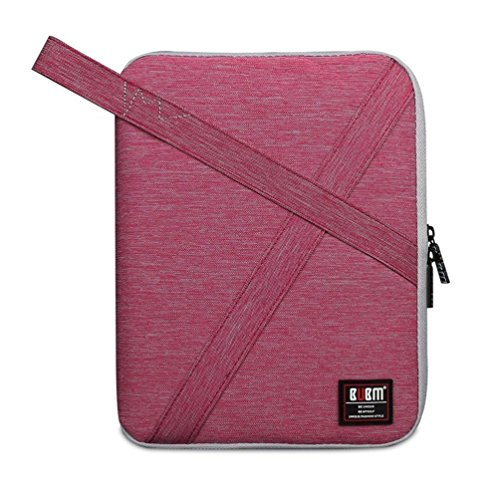 BUBM Travel Organizer Electronics Accessories Bag Universal Travel Gear Organizer Accessories Bag for Cables, Hard Disk, Earphones, Chargers with Handle(Medium Rose)