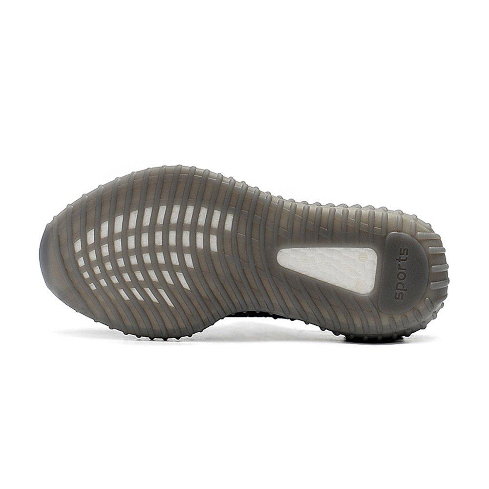 AUMERN Men′s Women′s Breathable Mesh Shoes 350 V2 Sport Sneakers B07DMZ9H1T Women US 8.5 B(M) 40EU/Men US 7 D(M) 40EU|Grey