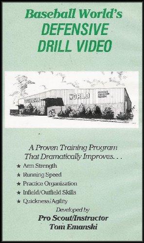 Baseball Baserunning Drills (Baseball World's Defensive Drill Video (A Proven Baseball Training Program) VHS VIDEO)