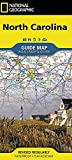 North Carolina (National Geographic Guide Map)