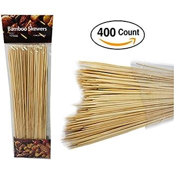 Amazon.com: Pro Image Lines - Pinchos de bambú para barbacoa ...