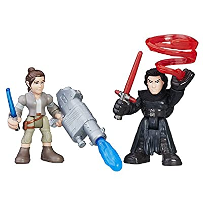 Star Wars Galactic Heroes Rey (Resistance Outfit) & Kylo Ren