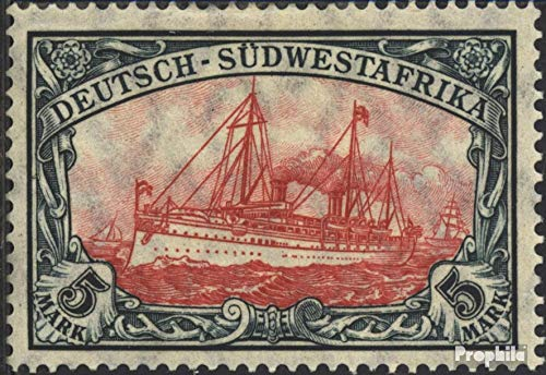GermanSouthwest 32A B 1907 Ship Imperial Yacht Hohenzollern (Stamps for collectors) seafaring