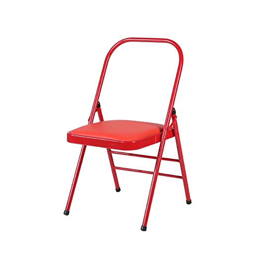Amazon.com: HYRL Silla plegable de yoga, silla auxiliar ...