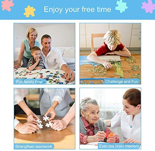 300 Piece Jigsaw Puzzle for Adults Kids Teens, Three-Layer Paper Material,Every Piece Fits Together Perfectly