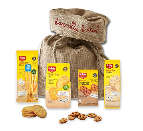 Schar Gluten Free Snacks | Gifts Birthday Anniversary Thank You | British Food Shipped From London UK (Savoury)