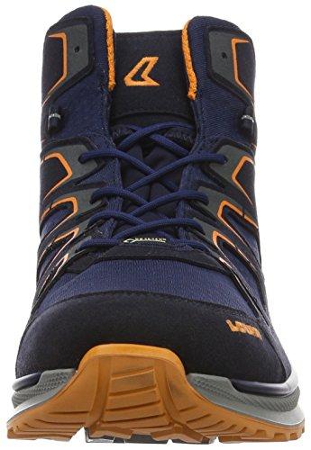 Lowa Innox Evo GTX QC, Scarpe da Arrampicata Uomo Blu (Navy/Orange)