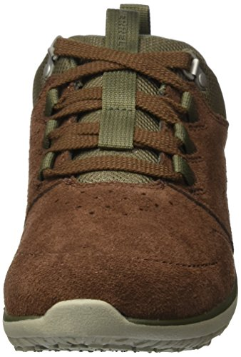Earth Getaway Merrell Dark Homme Marron Lace Locksley LTR Baskets vwwf8qCn