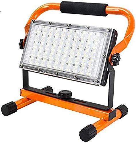 Foco LED con Bater/ía L/ámpara de Trabajo 40W Puerto de Salida USB 1600 l/úmenes Port/átil Orthland L/ámpara de Trabajo con 4 Modos de Luz Iluminaci/ón Exterior para Camping Obra Taller Garaje