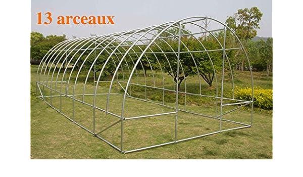 Invernadero 13 arcos: Amazon.es: Jardín