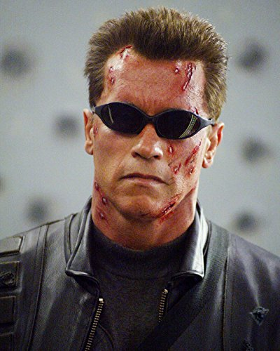 e0b7860a75 Image Unavailable. Image not available for. Color  Arnold Schwarzenegger  Sunglasses Terminator ...