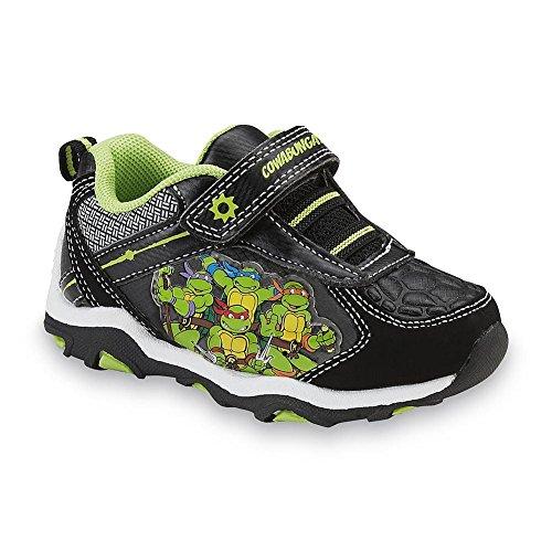 Teenage Mutant Ninja Turtles Shoes (Nickelodeon Teenage Ninja Mutant Turtles Boys Sneaker Shoe (12 M US Little Kid))