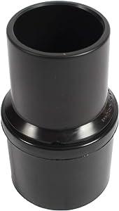 """Cen-Tec Systems 61298 Vacuum Cuff for 2"""" Diameter Hose, Black"""