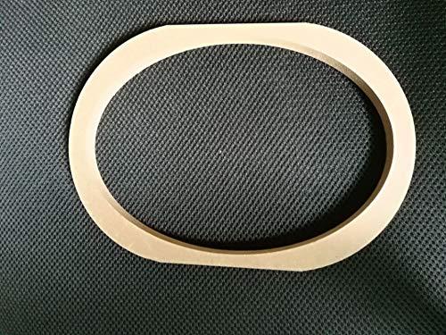 FidgetFidget Spacer Mounting 2PCS 6x9 inch Car Speaker Adaptor Brackets Ring Adapter Plate ()