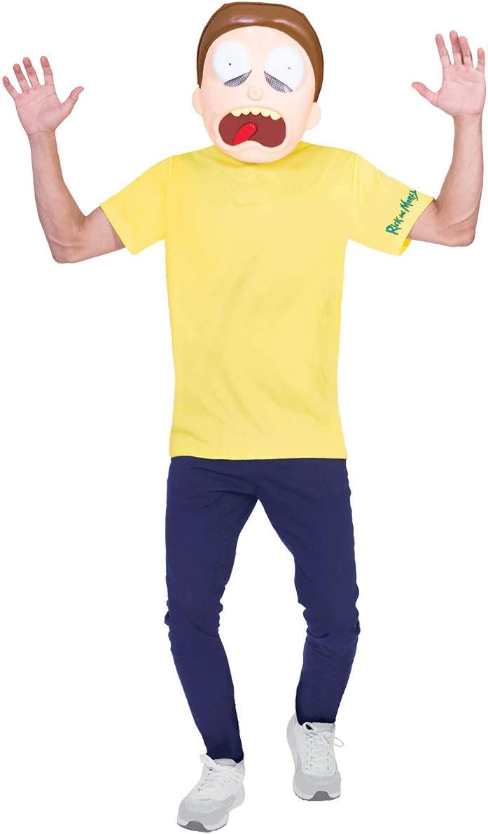 Beige amscan- Morty Standard Size Costumes Men Adult 9904220