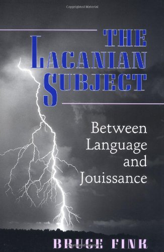 The Lacanian Subject by Princeton University Press