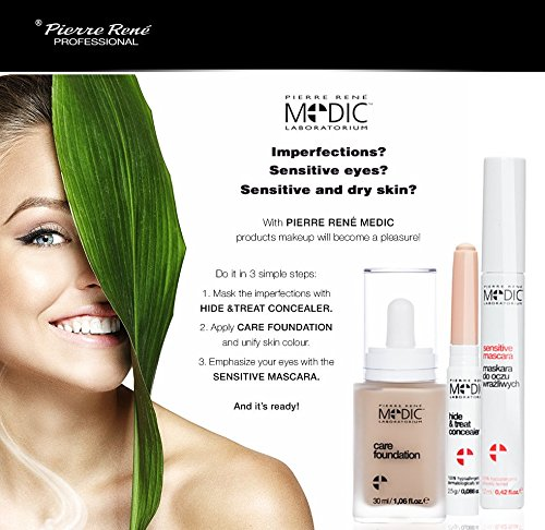MEDIC - Conditioning Gel Lash & Brow - with FMS Complex and Vitamins: hydrates and nourishes damaged eyelashes by Pierre Rene Professional (Image #5)