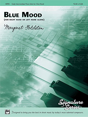 - Blue Mood (for right hand or left hand alone): Sheet (Signature Series)