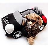 "Kojima Design-new Deluxe Cute Cozy Black Car Pet Beds Cover for Small-medium Dog 27.6""x19.7""x7.9"""
