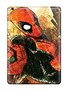 New Style JeremyRussellVargas Snap On Hard Case Cover Deadpool Protector For Ipad Air