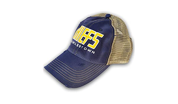 4455bcc7fcb2a Amazon.com  Officially Licensed Slap Shot Movie Charlestown Chiefs Cap   Clothing