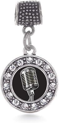 pandora charms microfono