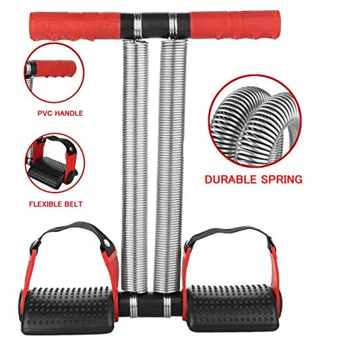 Double Spring Tummy Trimmer Pro Upgrade to Customer Demand Ab Exerciser Body Toner Fat Buster Multipurpose Fitness Equipment for Men and Women(Red and Black) Price & Reviews