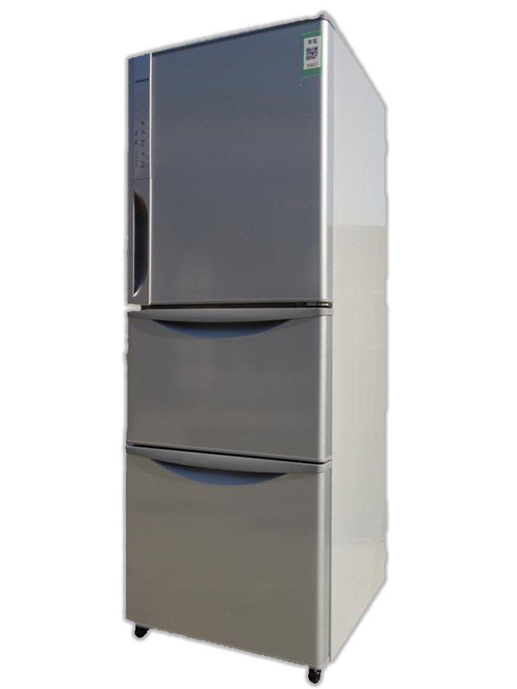 日立 265L 3ドア冷蔵庫(ライトシルバー)HITACHI 真空チルド R-K270EV-S   B00JSM0TQG
