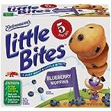 Entenmann's Little Bites 5 ct Blueberry Muffins 8.25 oz