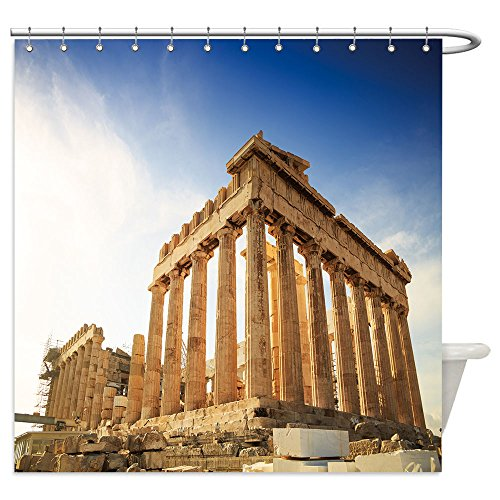 Herodes Costume (Vanfan Shower Curtains Acropolis Hill, Parthenon, Athens, Greece. Odeon Herodes Atticus_492651752 For Bathroom)