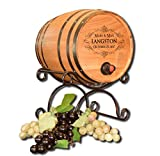 'Wedding' Personalized Bag-N-Barrel for Boxed Wine (B549)