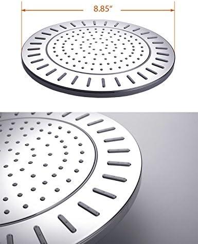 Conjunto completo de ducha brillante – Sistema de ducha doble ...