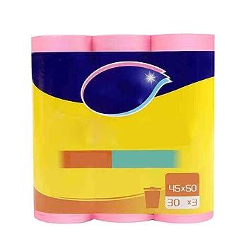YOUZHI Bolsas de Basura de Plástico Pequeñas,45 * 50cm,3 ...