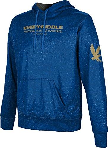 (ProSphere Embry-Riddle Aeronautical University Worldwide Men's Pullover Hoodie - Heathered FEE6)