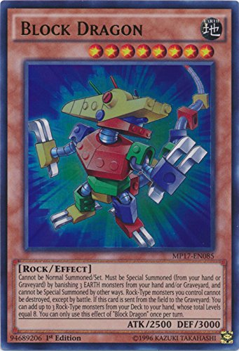 Block Dragon - MP17-EN085 - Ultra Rare - 1st Edition - 2017 Mega-Tin Mega Pack (1st (Dragon Block)