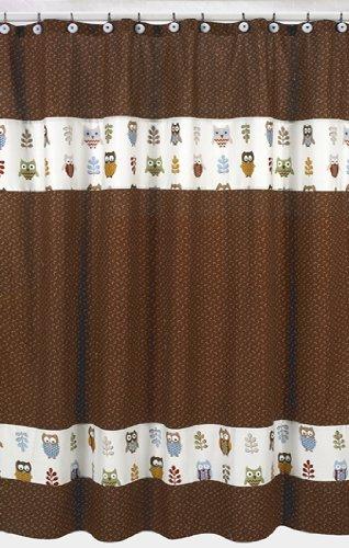 Amazon Sweet Jojo Designs Night Owl Kids Bathroom Fabric Bath