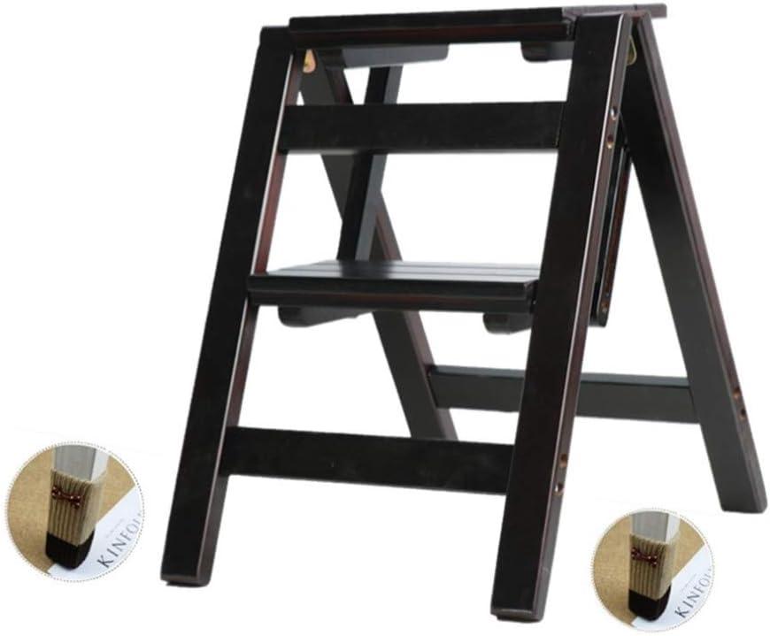 LY-Escalera 2-Escalera plegable silla plegable cubierta Escalera del taburete de doble propósito principal de múltiples funciones plegable plegable Escaleras rack de almacenamiento de pedal: Amazon.es: Bricolaje y herramientas