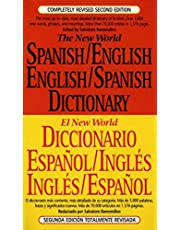 The New World Spanish-English, English-Spanish Dictionary: Completely Revised Second Edition
