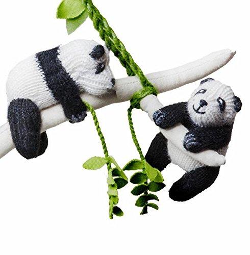 - Panda Crib Mobile - Baby Toy Panda Nursery Decoration