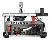 10'' Portable Table Saw, 15 Amps, Blade Tilt: Left, 5/8'' Arbor Size, 5300 No Load RPM