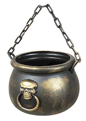 Struts Fancy Dress Deluxe Halloween Skull Witch Cauldron