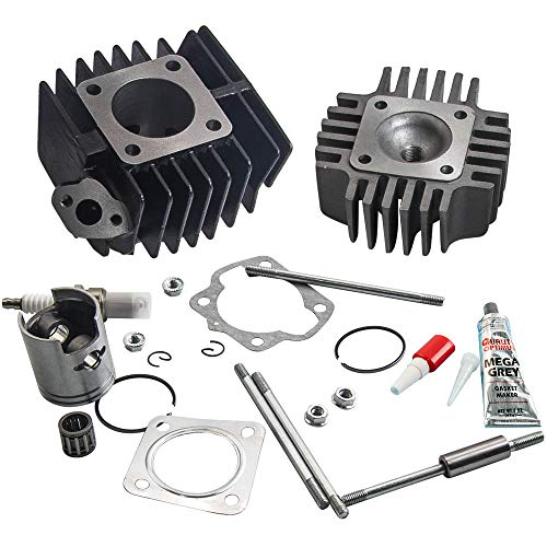 Cylinder Circlip Piston Ring Gasket Top End Kit for SUZUKI JR 50 JR50 1978-2006