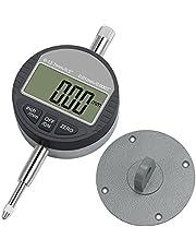 Neoteck DTI Digital Dial Indicator 0.0005''/0.01mm Digital Probe Indicator Dial Test Gauge Range 0.5''/12.7mm Dial Test Indicators Electronic Indicator Gauge