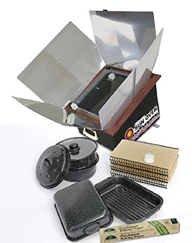 Exclusive All American Sun Oven Dehydrating Roasting and Preparedness Holiday Bundle