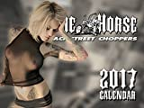 The Horse BackStreet Choppers Calendar 2017 Wall Calendar