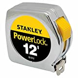 Stanley Hand Tools 33-312 3/4'' X 12' PowerLock® Professional Tape Measure