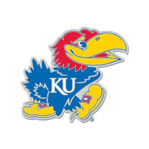 WinCraft NCAA University of Kansas Collector Pin Jewelry Card ()