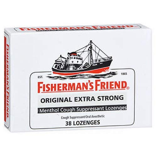 Fisherman's Friend Lozenges Original Extra Strong 38 Each (Pack of 2)