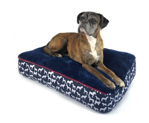 John Whitaker Whitaker Stanbury Dog Pillow Navy x Size  Large